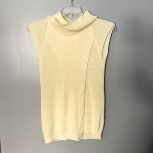One A | high neck sleeveless sweater | S
